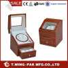Drawer를 가진 건전지 Operated 얼룩말 Wood Automatic Watch Winder Box