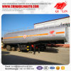 Semi Aanhangwagen van de Vrachtwagen van de Olietanker van het Voedsel van het Roestvrij staal van de Prijs van Qilin de Goedkope Voor Afrika