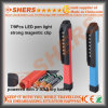 Lumière de travail de crayon lumineux de travail de poche de 7 DEL avec le clip magnétique