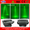 400MW Green 8 Eyes, das Spider Beam Laser Light Verschiebt-Head