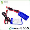 4 cellen 18650 Li-Ion het Pak van de Batterij 2s1p 7.4V