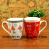 Mok/de Kop van de Koppen van de Koffie van Kerstmis van de Mok van Porcelaiin van de Gift van Kerstmis de Ceramische Bulk Seizoengebonden