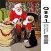 Peinture à l'huile chaude de Noël de vente de ventes en gros par Numbers avec le bâti en bois