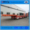 3 eixos 50 toneladas reboque da base da capacidade de baixo Semi para a maquinaria