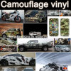 Nuovo Style White Camouflage Film per Cars 1.52*30m