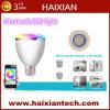 7개의 색깔 무선 Bluetooth 스피커 RGB 색깔 지능적인 LED 전구 램프
