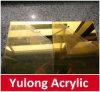 Панели листа зеркала серебра и золота акриловые 1220X2440mm