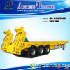 Tri-Axle 60tons Excavator Transportation Lowbed Semi Trailer for Sale