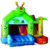 Gioco gonfiabile del Bouncer: Dinosauro del drago verde dei capretti che salta castello rimbalzante
