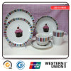20PCS Cup Cake Dinnerware in Ceramic