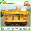 3 Dumpende Aanhangwagen van de Container van de Cilinder van Hyva van assen Flatbed