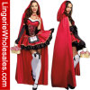 Горяче продающ меньший Costume Cosplay красного клобука Riding причудливый для женщин