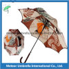 23inches Auto Open Fashion Flower Printed Straight Umbrella