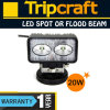 4 '' 20W LED Work Light para Truck, EMC LED Work Lights, Tracktor LED Work Lamp