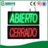 워드 LED 스페인 사람 열려있는 표시를 주문을 받아서 만드십시오