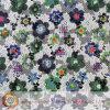 고품질 아프리카 크로셰 뜨개질 면 레이스 직물 (M0517)