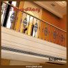 견면 벨벳은 정지한다 Casting Stair Railing Red Antique (SJ-B010)를 위한 Aluminum Balustrade를