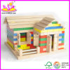 2014 새로운 Kids Wooden Block House Toy, Popular Children Block House Toy 및 Hot Sale Colorful Wooden Block House Toy Wj276319