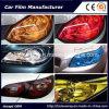 Цвет автомобиля светлый изменяя оборачивающ пленку подкраской фары