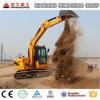 Máquina escavadora X80-E da cubeta, máquina escavadora hidráulica da esteira rolante, 0.3 cubetas de Cbm