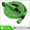 Double Latex Retractable Flexible Garden Water Hose with 3 Screws Faucet