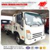 De goedkope Vrachtwagen van de Lading van de Raad van de Borst van de Prijs 4X2 met Motor Isuzu