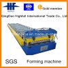 Heiße Verkaufs-Farben-gewölbte Dach-Panel-Stahlrolle, die Maschine bildet