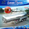 3 assen 50cbm de Semi Aanhangwagen van de Tanker van de Brandstof van de Legering van het Aluminium