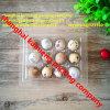 Bandeja plástica transparente Filipinas do ovo de codorniz 12units