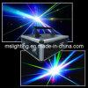 demostración del laser de Animatio del color de 8W RGB/luz laser del disco