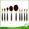strumenti sintetici delle estetiche della spazzola di capelli di funzione 9PCS della spazzola piena di trucco