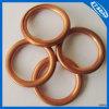 Rondelle plate d'en cuivre de joint circulaire de caisse de garniture