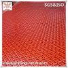 Diamant PVC beschichtete kohlenstoffarmes/erweitertes Metallineinander greifen