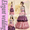 Le satin rose prennent princesse Style Quinceanera Dress Ah1253