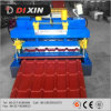 Mattonelle lustrate acciaio automatico di colore che formano macchina