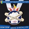 Médaille neuve en métal de type de la vente 2017 chaude faite sur commande en Chine