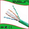 CE d'offre, RoHS, câble LAN Solide de l'en cuivre CAT6 d'UTP/FTP/STP/SFTP