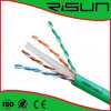 CE de la oferta, RoHS, cable de LAN sólido del cobre CAT6 de UTP/FTP/STP/SFTP