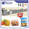 Máquina fritada automática popular dos macarronetes imediatos
