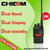 De Bidirectionele RadioWalkie-talkie van Dualband (CH-UVQ8)