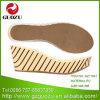 Nieuwe Zool gz-11047 van de Hielen Pu van de Luipaard van de Vrouwen van het Ontwerp