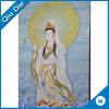 Etiqueta tecida Buddha chinesa para pendurar/decoração