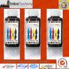 Permeability elevado Pigment Inks para PVC Materials.