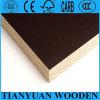 Película preta madeira compensada Shuttering enfrentada da madeira compensada