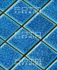 Azulejo de cerámica esmaltado de la pared del mosaico del arte de la porcelana del azul de cielo (DL-IID82703)