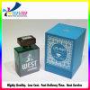 Голубая изготовленный на заказ коробка дух бутылки печатание
