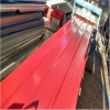 Hoja de acero acanalada galvanizada para el material de construcción de la estructura de acero