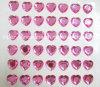 Большой стикер Heart Shape Stick Crystal на стикере Rhinestone