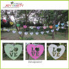 I Love You Paper Garland 12 PCs Banners met String
