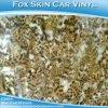 Coche decorativo estirable de la etiqueta engomada de la piel del Fox